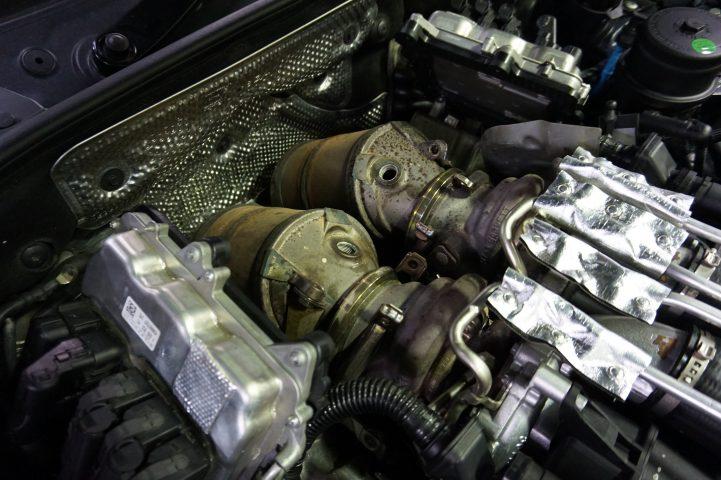 BMW M5 ダウンパイプ