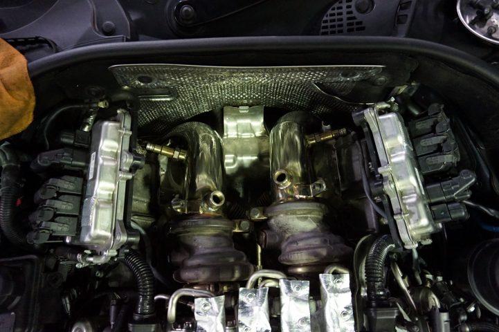 IPE ダウンパイプ BMW