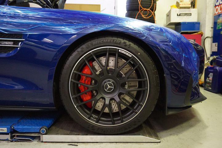 AMG GT ダウンサス 交換