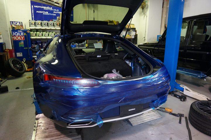 AMG GT ダウンサスペンション