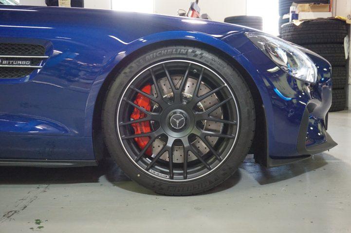 AMG GT サス交換