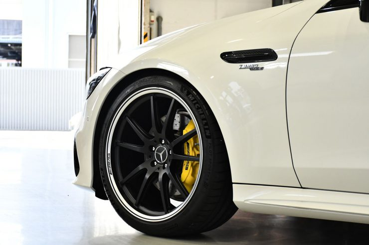AMG ベンツ GT63S GT53 ローダウン ロワリング キャリパーペイント