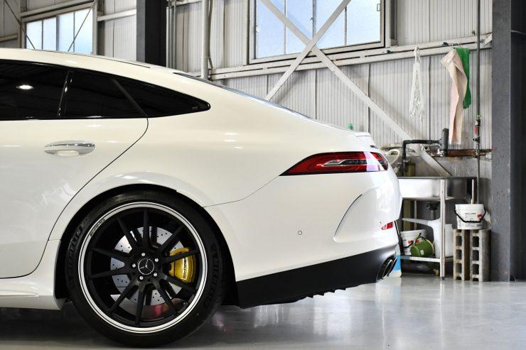 AMG GT53 GT63S ローダウン キャリパーペイント ブラックアウト ローダウン