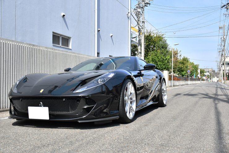 名古屋 Ferrari 812SuperFast Novitec