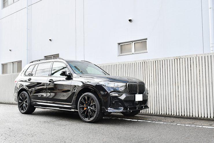 名古屋 BMW X7 電動サイドステップ カスタム