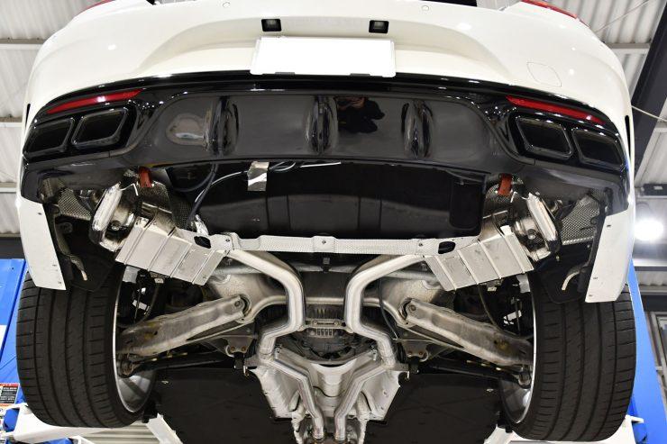ベンツ AMG S63クーペ Sクーペ カプリスト マフラー カスタム 名古屋