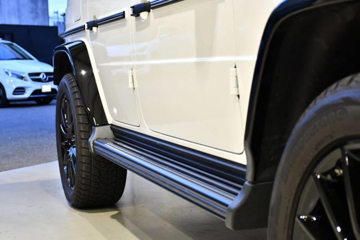 ベンツ Gクラス ゲレンデ G400d W463A ブラックアウト スペーサー カスタム 名古屋 ブラバス
