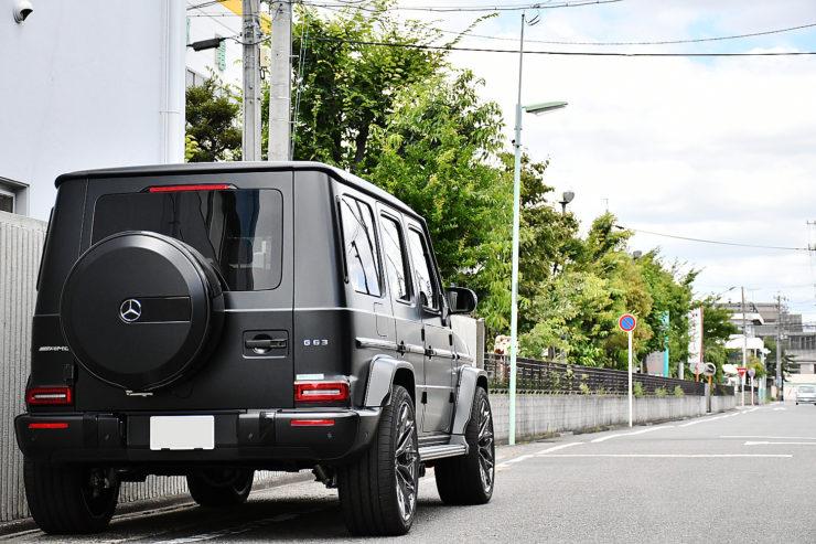 愛知県 名古屋 ベンツ ゲレンデ W463A G63 カスタム AMG アーバン URBAN ナイトパッケージ仕様 インナーブラックヘッドライト リップ