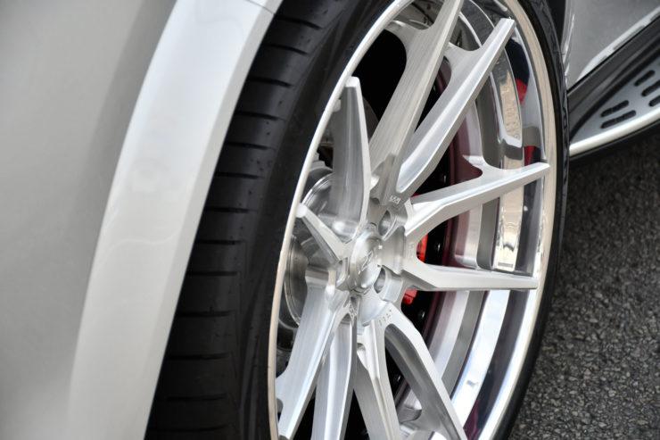 ベンツ AMG GLS63s 1221 アメ鍛 24インチ ローダウン カスタム 名古屋