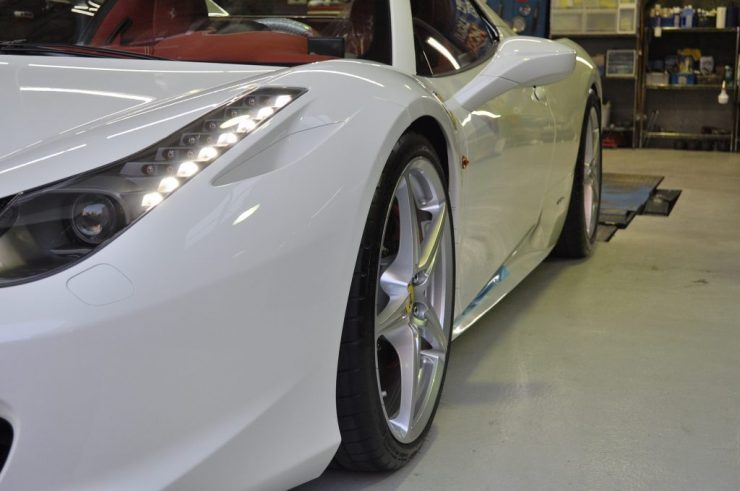 フェラーリ 458 スペーサー カスタム
