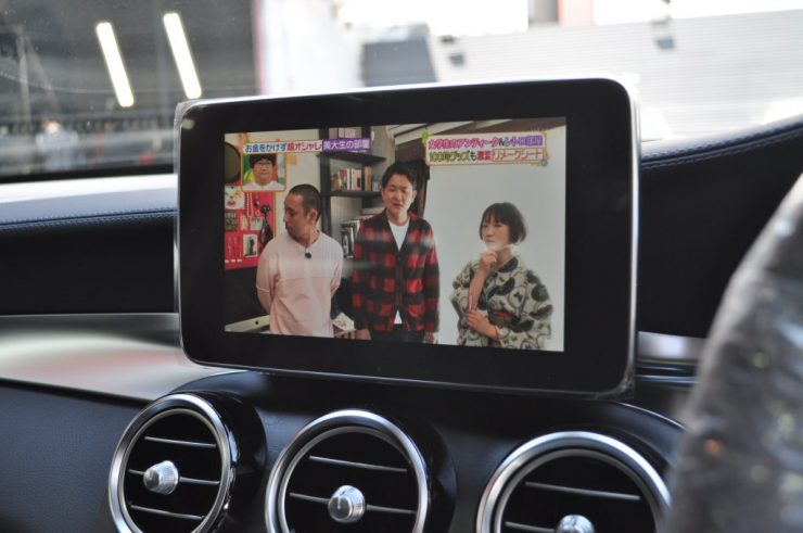 X253 AMG GLC43 テレビキャンセラー カスタム