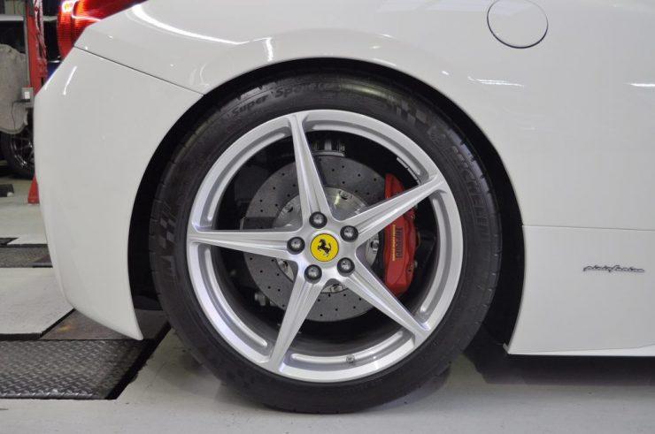 フェラーリ 458 ローダウン ダウンサス カスタム