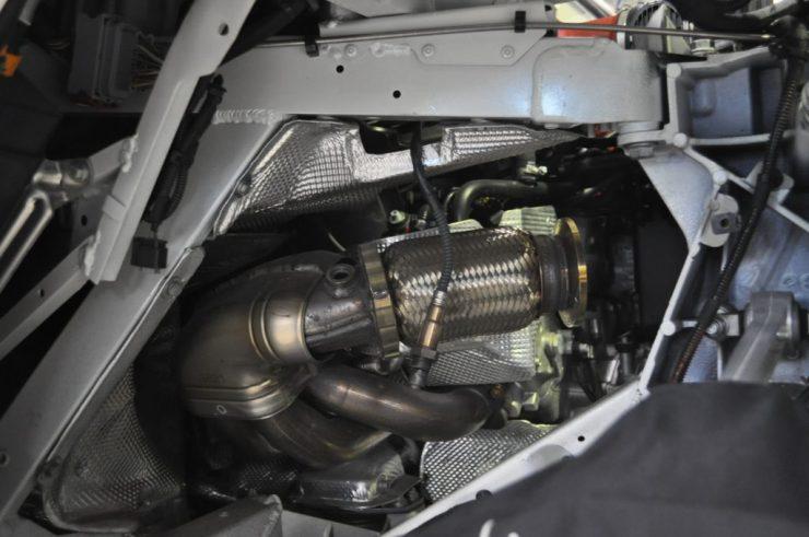 フェラーリ 458 マフラー交換 エキマニ カスタム