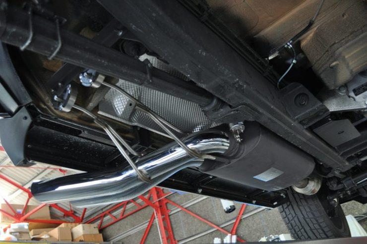 W463 G550 ゲレンデ ブラバス BRABUS マフラー交換 デイライト カスタム