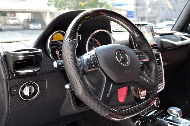 W463 AMG G63 カーボンステアリング カスタム