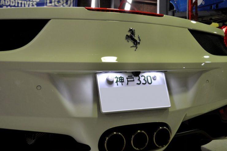 フェラーリ 458 LED キセノン デイライト カスタム