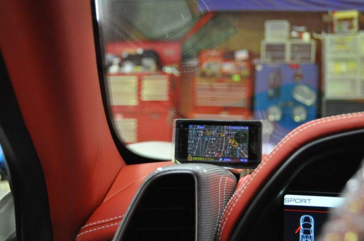 フェラーリ 458 LED レーダー バックライト カスタム