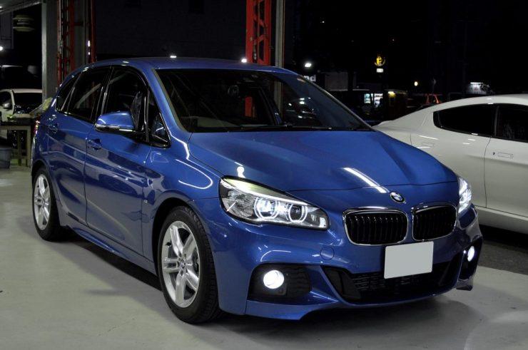 BMW F45 218i アクティブツアラー LED交換 コーディング カスタム