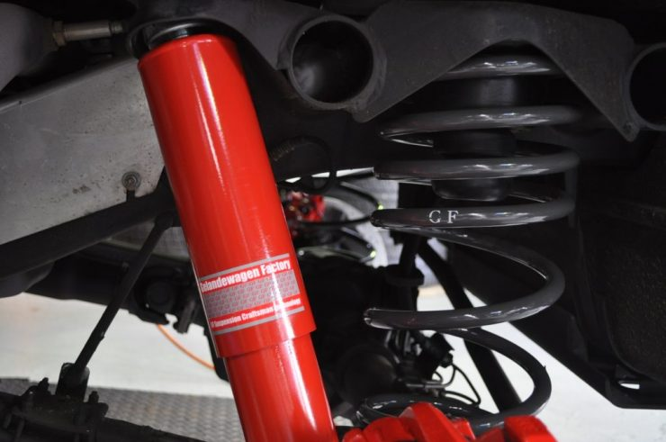 W463 BRABUS G63ブレーキ GFサスペンション カスタム