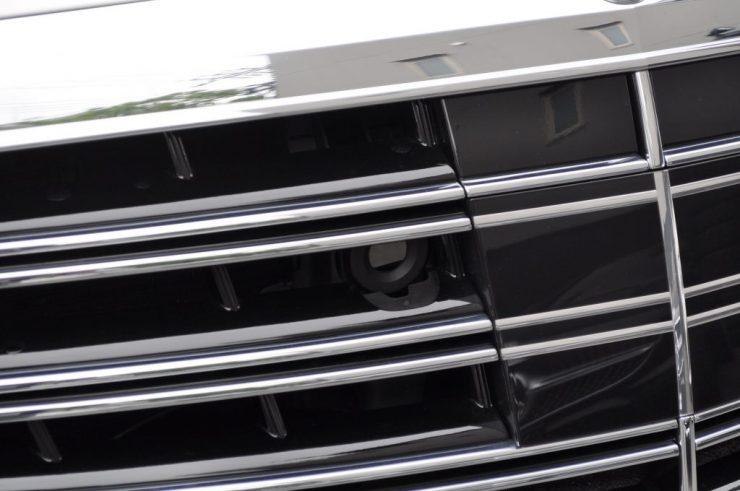 W222 S63 リアモニター 後期テール カーボンステアリング カスタム