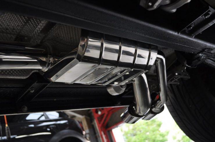 W463 AMG G63 カプリスト マフラー交換 カスタム
