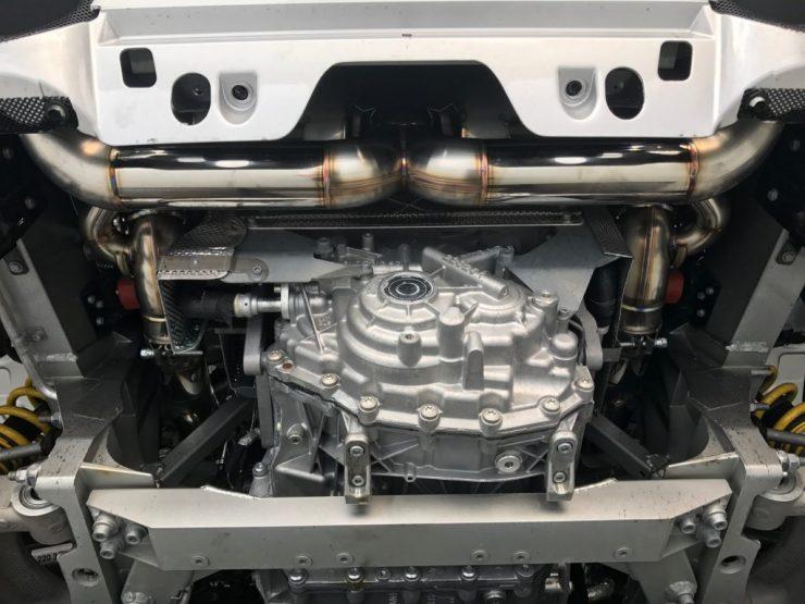 フェラーリ 488 ブリリアント マフラー交換