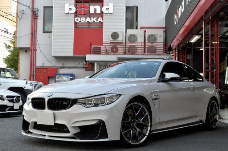 BMW F82 M4 × BBS RI-S ホイール交換