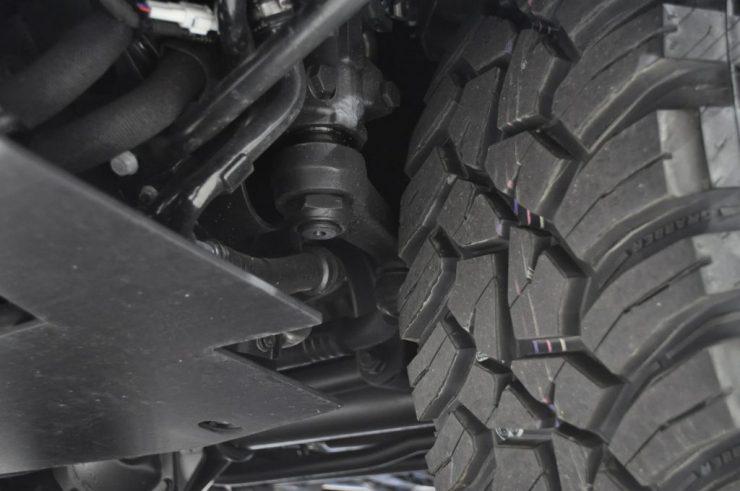 W463 リフトアップ ゴツゴツタイヤ カスタム
