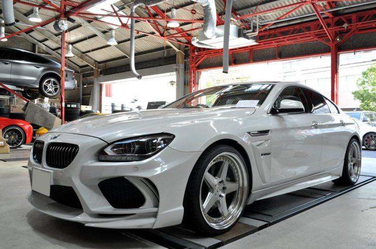 BMW F06 650iグランクーペ KW車高調 ストリートコンフォート