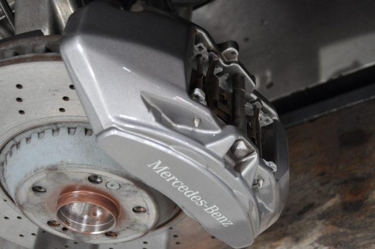 W222 S400h WEDS ホイール交換