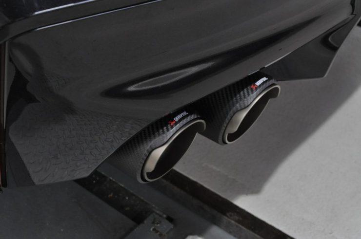 BMW F90 M5 Akrapovic アクラポビッチ マフラー交換