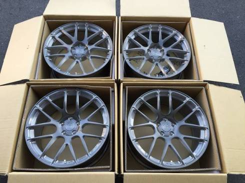 bc forged rs40 W212 E63 ガンメタ