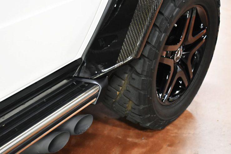 W463 Gクラス マフラー ブラバス ゴツゴツタイヤ