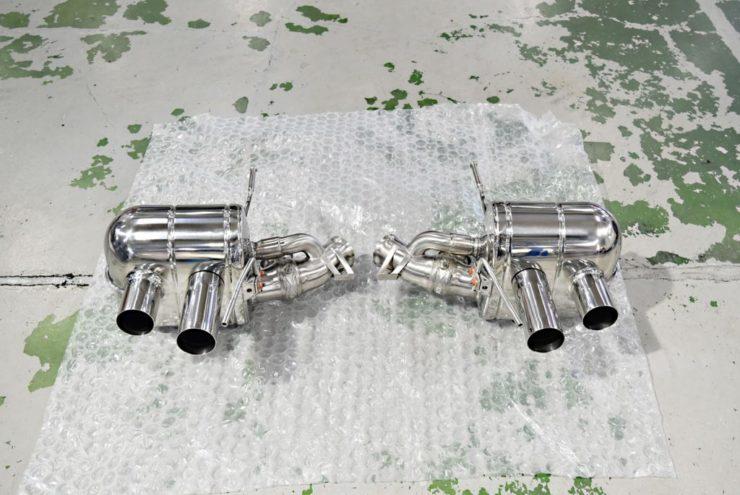 フェラーリ F12 マフラー 458 488 カプリスト ノヴィテック ノビテック
