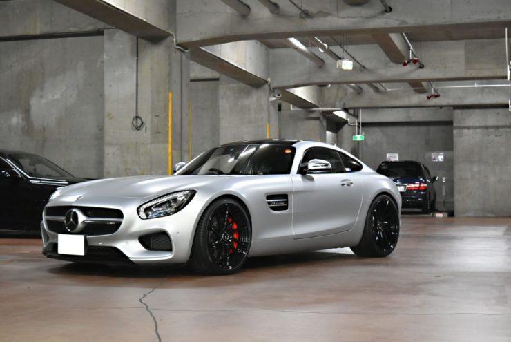 AMG GT GTS ローダウン ダウンサス KW