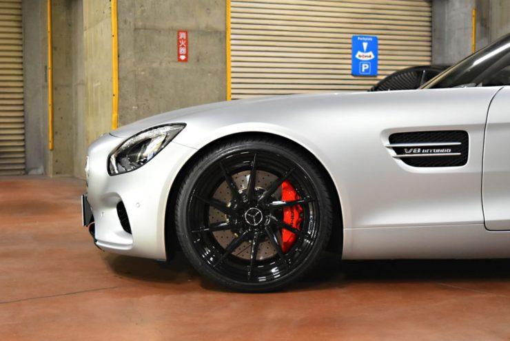 AMG GTS AMG GT BCフォージド 21インチ ローダウン ダウンサス