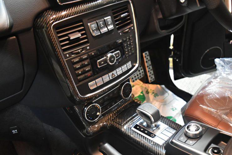 Gクラス 内装カーボン ゲレンデ G350d G63シフトノブ