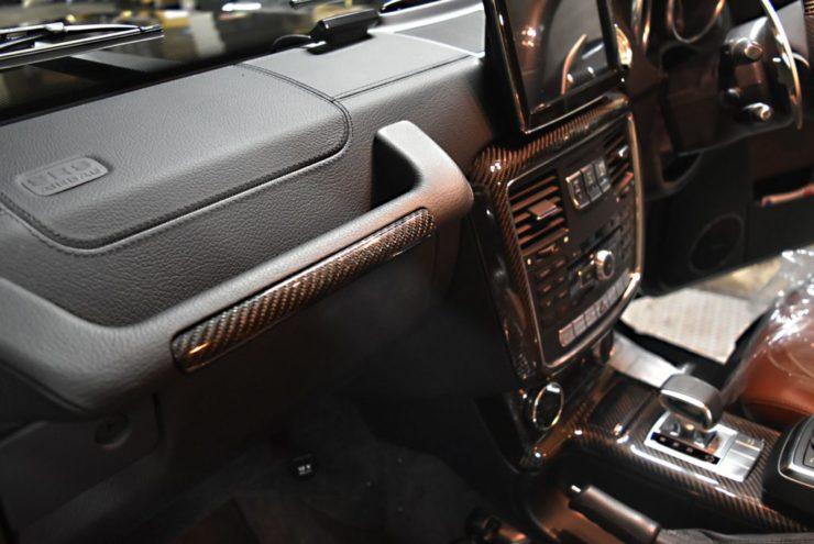 Gクラス 内装カーボン カーボンパネル G350 W463 エンブレムペイント