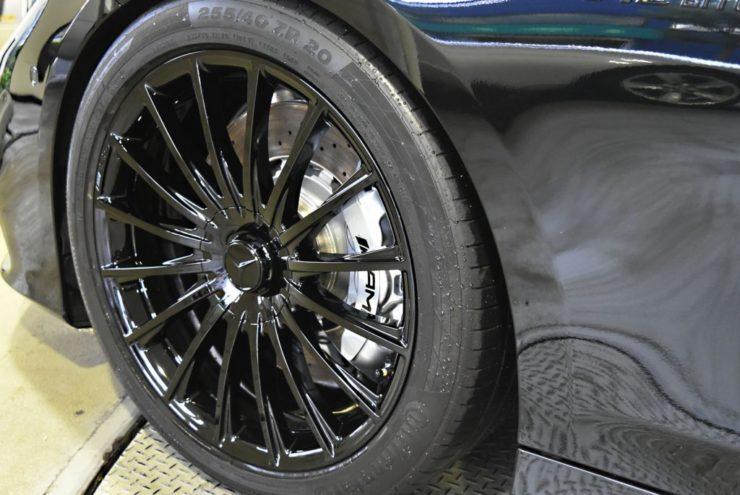 AMG 20インチ ホイールペイント キャリパーペイント Sクーペ S65 S63 S550