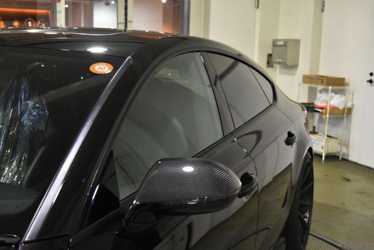 アウディ RS7 S7 A7 ウィンドウモール ローダウン