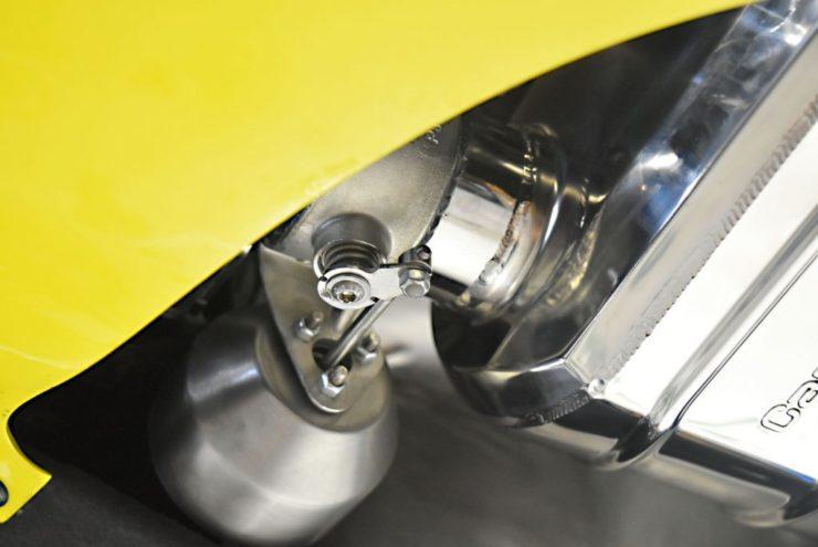 カプリスト マフラー エキゾースト ベントレー GTC スピード コンバーチブル