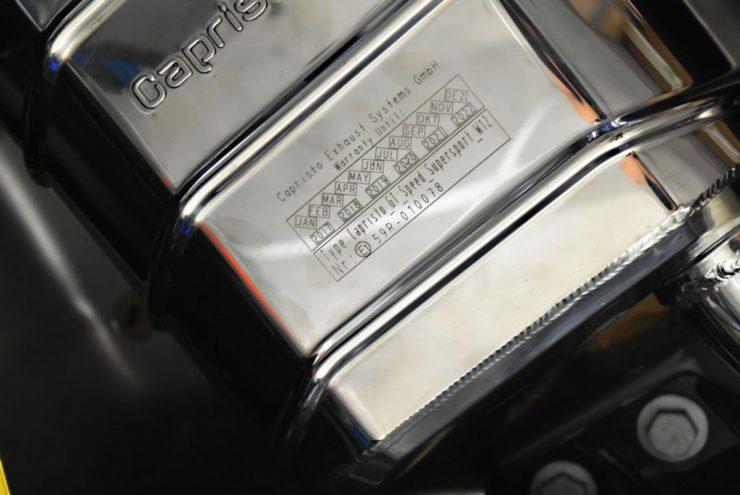 カプリスト マフラー ベントレー コンチネンタルGT GTC スピード