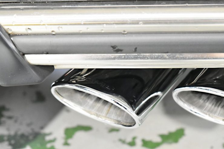 Gクラス マフラー 本国仕様 4本出し ブラバス バルブ付 インナーブラックヘッドライト スモークテール デイライト