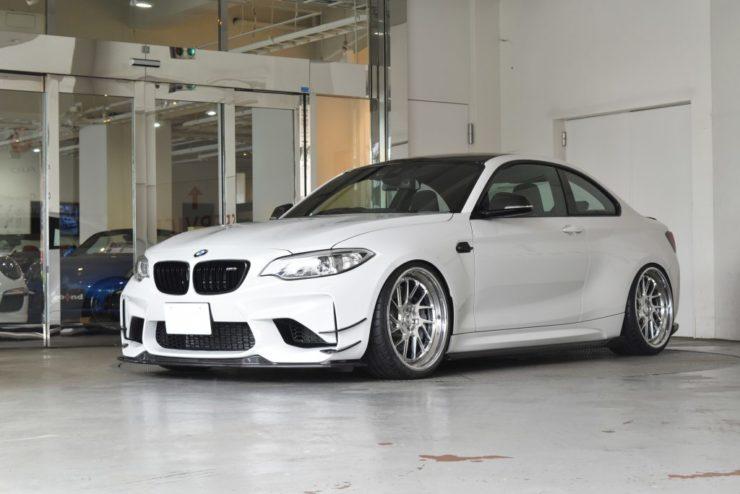 BMW M2 カスタム 1221 ホイール