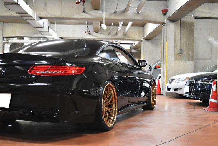 AMG Sクラス Sクーペ S63 S65 S550 ブラックアウト エンブレムペイント テールスモーク キャリパーペイント