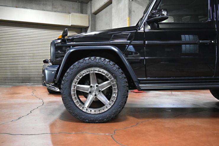 ロティフォーム Gクラス ブラックアウト エンブレムペイント G350dプロフェッショナル