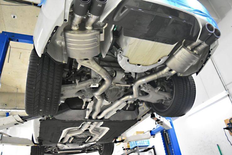 BMW アクラポヴィッチ マフラー チタン Eマーク付 M6