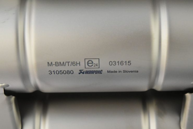 BMW マフラー チタン 車検対応 アクラポ