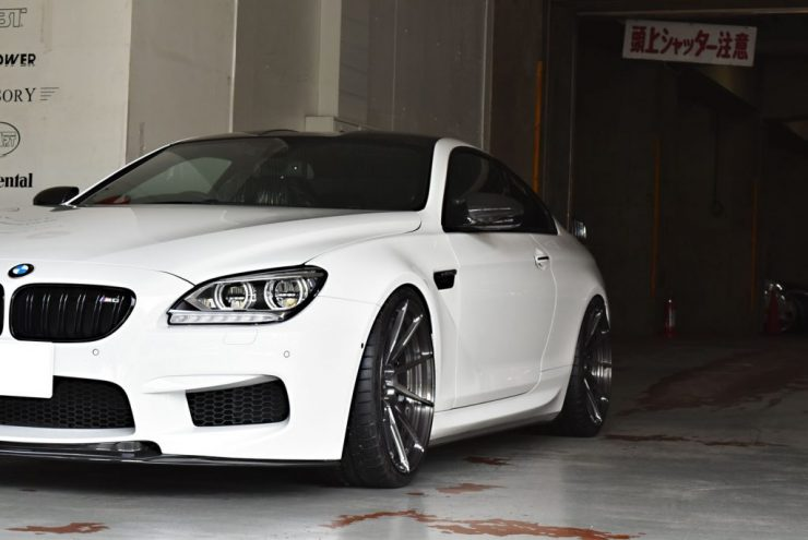 BMW M6 KW 車高調 ローダウン マフラー