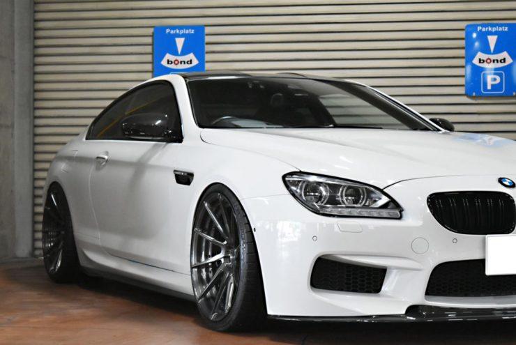 BMW M6 ローダウン 車高調 KW マフラー カスタム